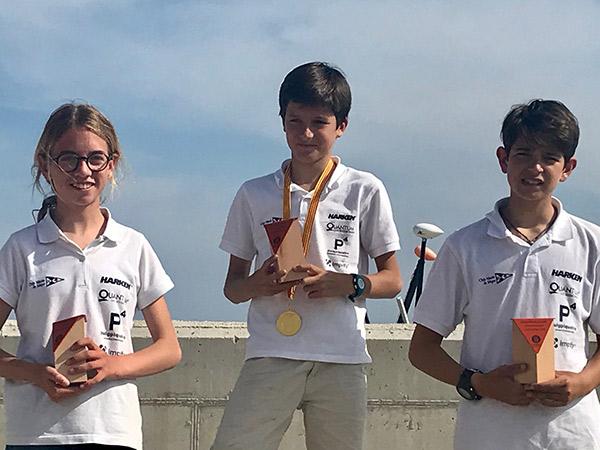 El Club Náutico Sitges triunfa en el Campeonato de Cataluña de Patín a vela junior 2018