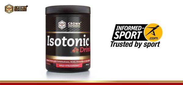 Nueva certificación antidoping en el producto Isotonic Drink