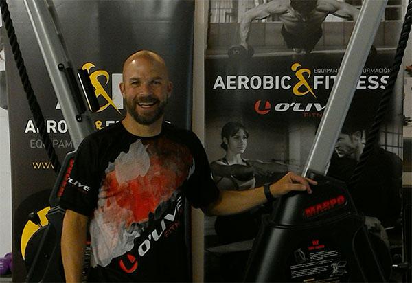 Aerobic&Fitness trae a Barcelona al entrenador Jeremy Strom