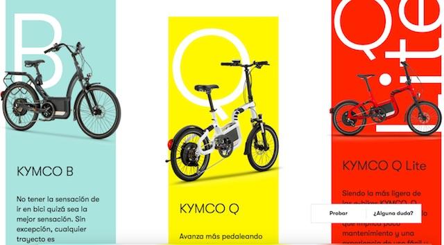 Kymco España inicia la venta online de sus e-bikes