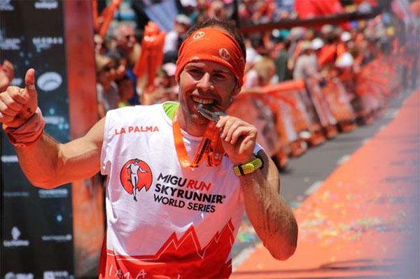 """Pere Aurell: """"Estoy viviendo un sueño, he visto varias veces el vídeo de mi llegada a Los Llanos de Aridane"""""""