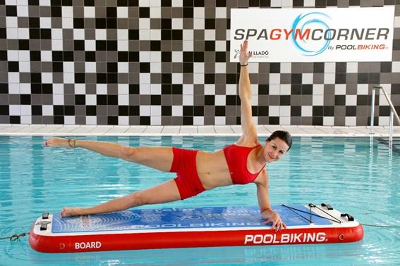 Poolbiking lanza la plataforma acuática Poolboard