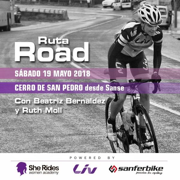Nueva ruta del Club She Rides en Madrid