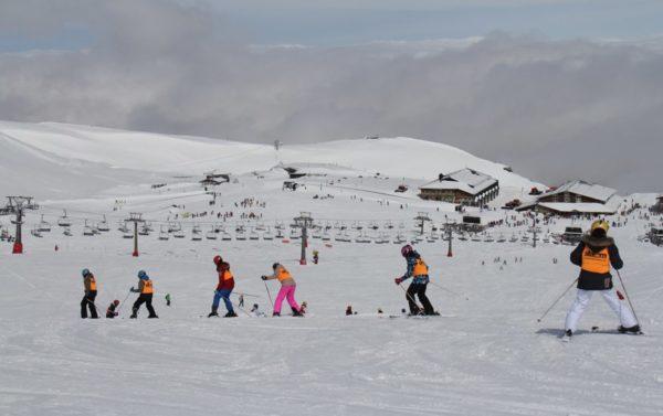 Sierra Nevada supera el millón de esquiadores esta temporada