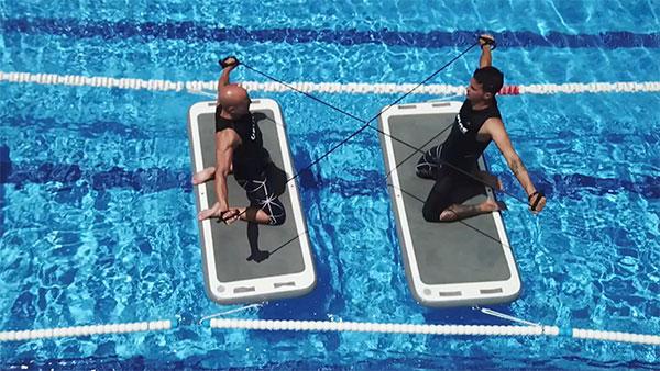 Aerobic&Fitness organiza una formación de Aquafit Board en Barcelona