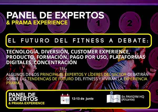 El Panel de Expertos Prama 2018  acogerá a la flor y nata de los gimnasios españoles