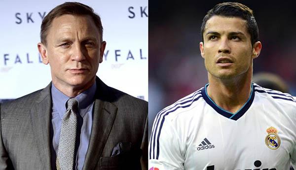 ¿En qué se parecen Cristiano Ronaldo y James Bond?