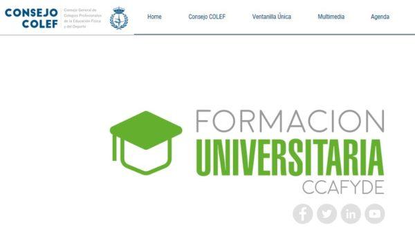 El Consejo Colef amplía su sección web de estudios oficiales y universitarios