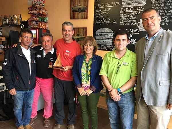 Cinco patinistas participan en el Campeonato de Cataluña 2018 de vela a radiocontrol