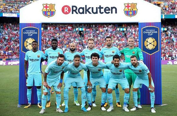 El Barça es el club de fútbol con más ingresos por patrocinio del mundo