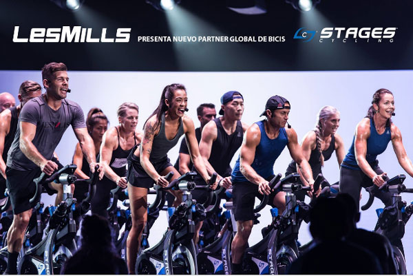 Les Mills elige Stages Indoor Cycling como partner global de bicicletas