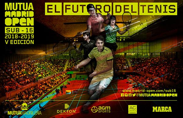El Mutua Madrid Open celebra la sexta edición de su circuito de promesas del tenis