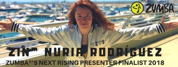El mejor instructor de Zumba del mundo podría ser la catalana Nuria Rodríguez