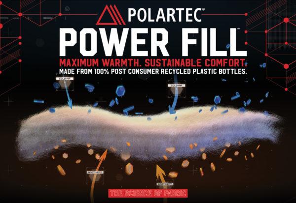 Polartec presenta un nuevo tejido que retiene más calor corporal