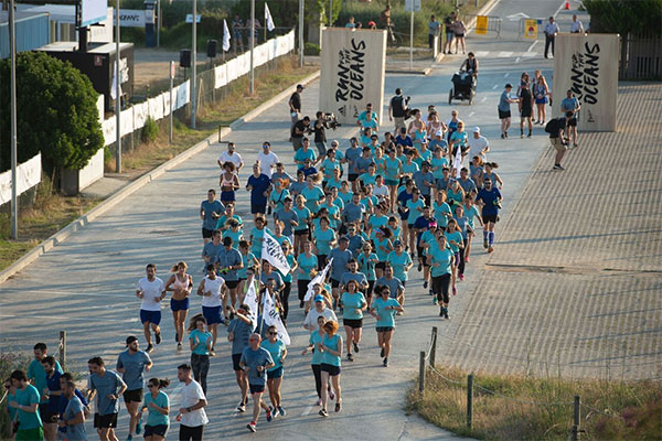 Barcelona acoge por primera vez el evento Run for the Oceans
