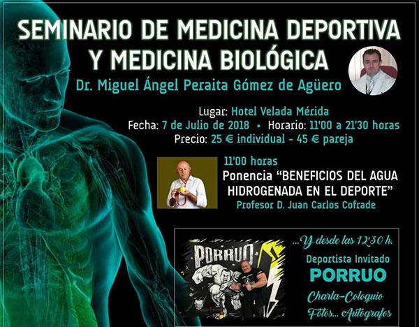 Oss Fitness patrocina el Seminario de medicina deportiva y biológica