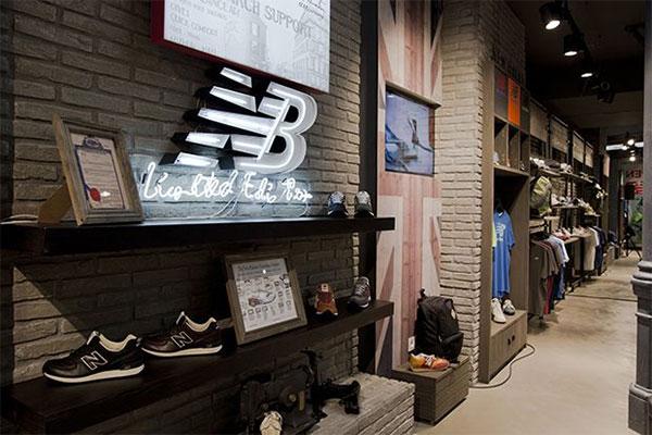 New Balance estrenará en Valencia y Barcelona su nuevo concepto de tienda