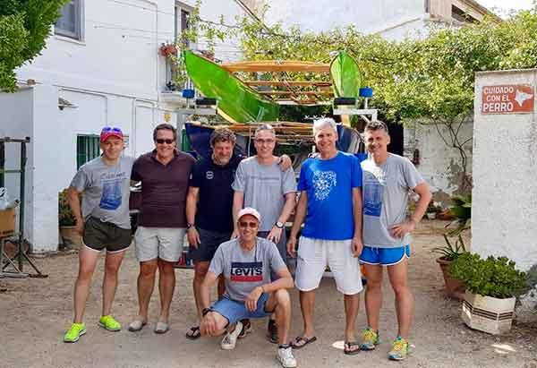 Diez patinistas de Calafell darán la vuelta a Formentera