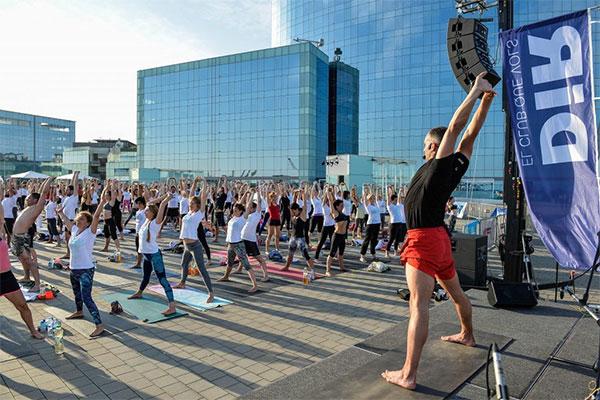 Llega la cuarta edición del Yoga Day by DiR