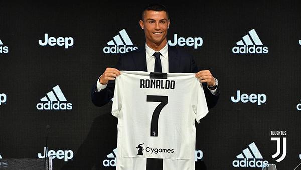 Adidas saca 'tajada' del fichaje de Cristiano Ronaldo por la Juventus