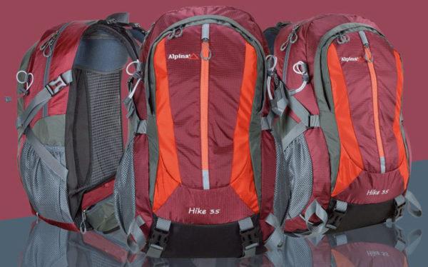 Las nuevas mochilas Alpina mejoran su transpirabilidad y regulación