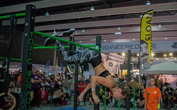 El fitness callejero y la esgrima se citan en Arnold Classic Europe 2018