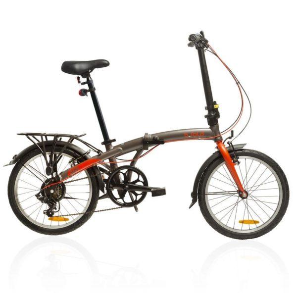 Decathlon alerta de un fallo grave en dos modelos de sus bicicletas plegables