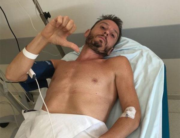 Carles Castillejo se fractura una vértebra y no estará en el Maratón de Nueva York