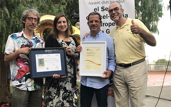Claror, primera entidad deportiva de España que obtiene el sello de Excelencia Europea EFQM