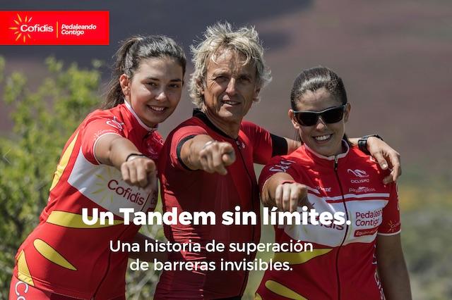 Cofidis estrena una webserie sobre ciclismo paralímpico con Jesús Calleja