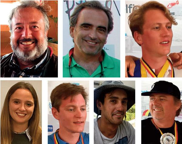 Los '7 magnificos' de la Copa de Europa 2018 de patín a vela