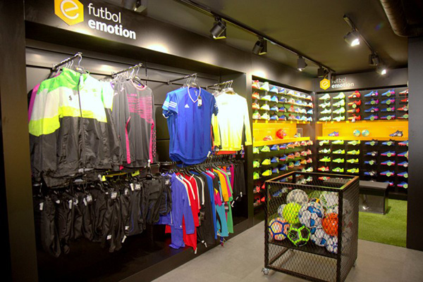 Fútbol Emotion ultima su apertura en Lisboa y prepara tres nuevas tiendas más