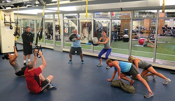 El entrenamiento en grupo seduce ya a un cuarto de los clientes de gimnasios