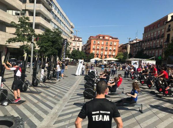 Indoor Triathlon colabora en el día Mundial de los Refugiados