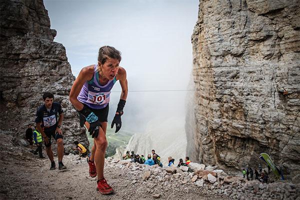 Laura Orgué consigue su cuarta victoria en la Dolomyths Run