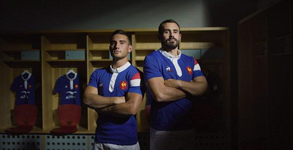 Le Coq Sportif presenta los uniformes 2018-2019 de la selección francesa de rugby y del Saint-Etienne