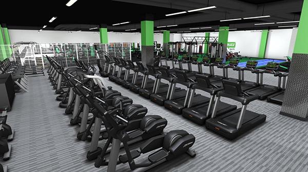 Life Fitness crece en el Reino Unido junto a los gimnasios low cost Buzz Gym