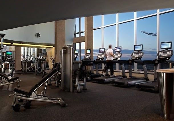 Los aeropuertos se suman al fitness y el Wellness