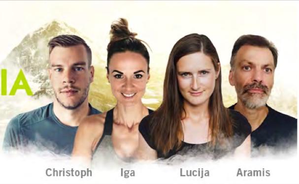 Cuatro nuevos ganadores del concurso Mountopia de Dynafit
