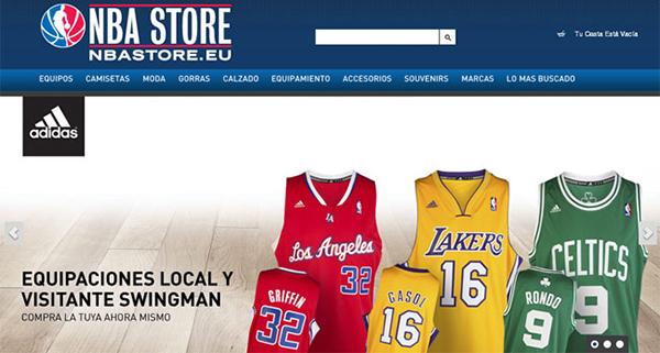 NBA Store ya es la tienda online de baloncesto más visitada en España