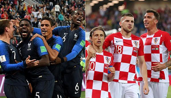 Nike acapara la atención en la final del Mundial de Rusia 2018