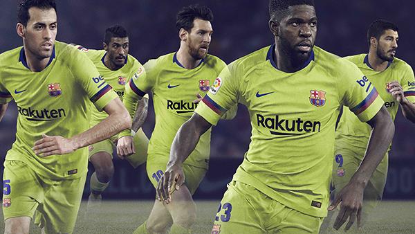 Nike presenta la camiseta suplente del FC Barcelona para la temporada 2018-2019