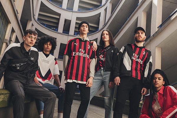 Puma da un toque 'vintage' a su primera camiseta del AC Milan