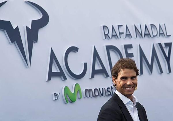 Rafa Nadal crea su Godó particular para las promesas del tenis