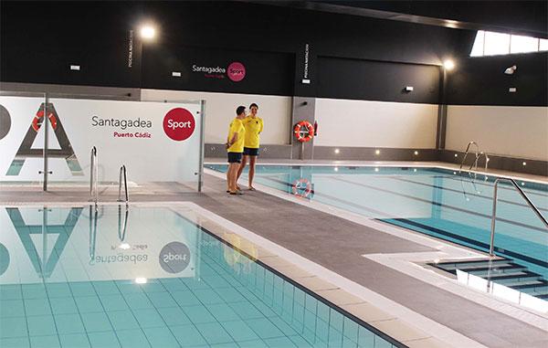 Santagadea abre las puertas de su centro deportivo en el Puerto de Cádiz