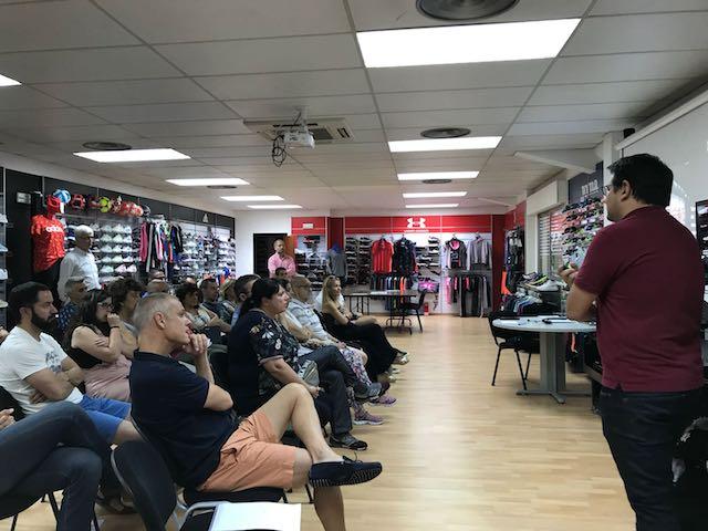 El holding Totalsport impulsa las tiendas T-Box de moda deportiva