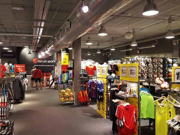 Forum Sport reabre su tienda de Palencia con venta omnicanal