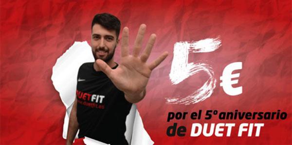 Aniversario y promociones marcan la llegada de septiembre en los gimnasios Duet