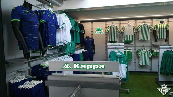Kappa abre las puertas de la nueva tienda oficial del Betis