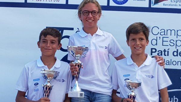 Mar Vilardell, campeona de España 2018 de patín a vela junior
